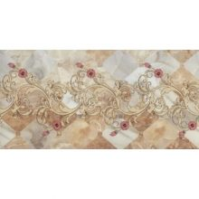 کاشی و سرامیک نقشینه گل روشن سایز ۲۵*۵۰ آسیا